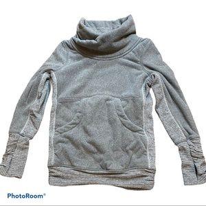Kids Ivivva Grey Fleece Pullover Size 6